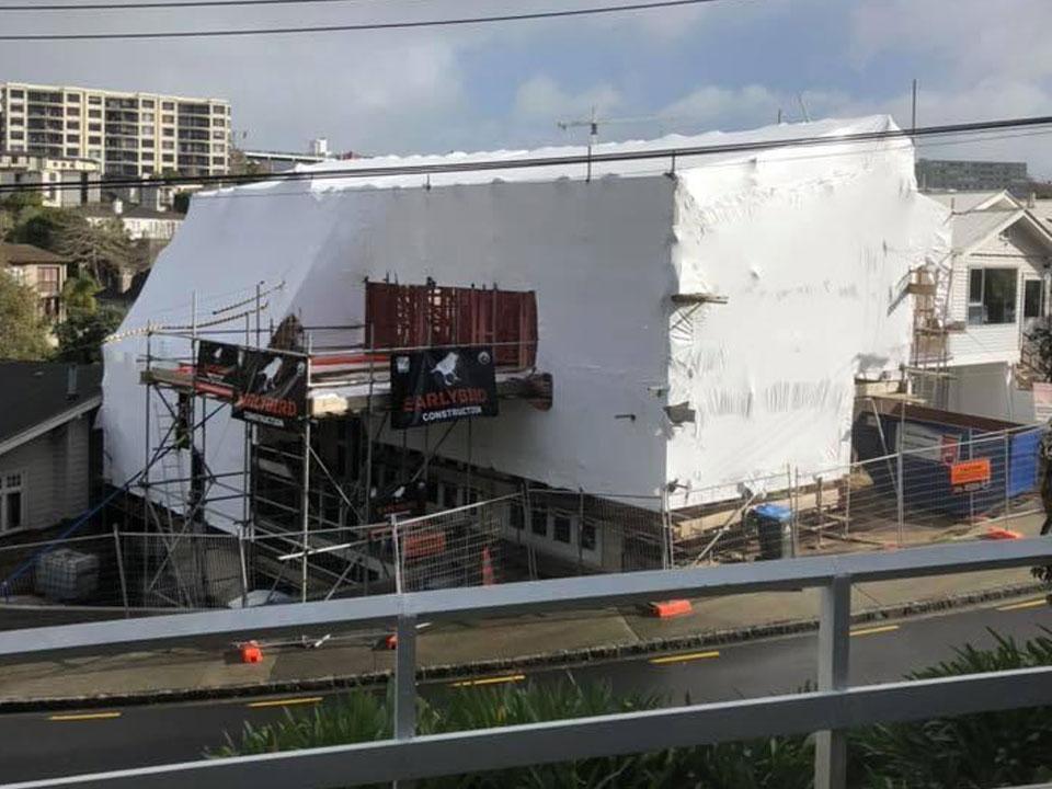 House & Building Shrink Wrap